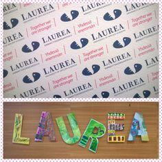 Kirjaimet on kivoja.  Laurean kilpailu Instagramissa. #Laurea_UAS https://www.laurea.fi/opiskelu-ja-hakeminen/hakeminen/osallistu-laurea-kilpailuun-ja-voita-iphone