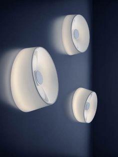 Foscarini | Lumiere XXL | Contemporary glass wall light by Rodolfo Dordoni