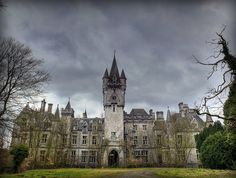 The Chateau de Noisy in Belgium, abandoned and falling into total ruin since 1991.