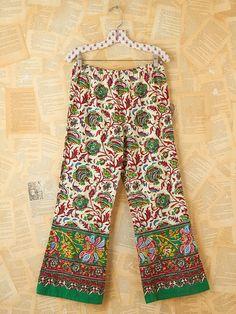 Free People Vintage Batik Printed Beach Pants...a bit expensive for me, but I like.