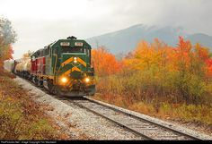 RailPictures.Net Photo: GMRC 305 Green Mountain Railroad EMD GP40 at Danby, Vermont by Tim Stockwell
