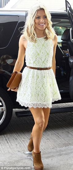 summer dress with booties