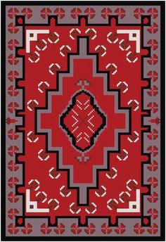 Little Navajo Cross Stitch par MartisXSDesigns sur Etsy