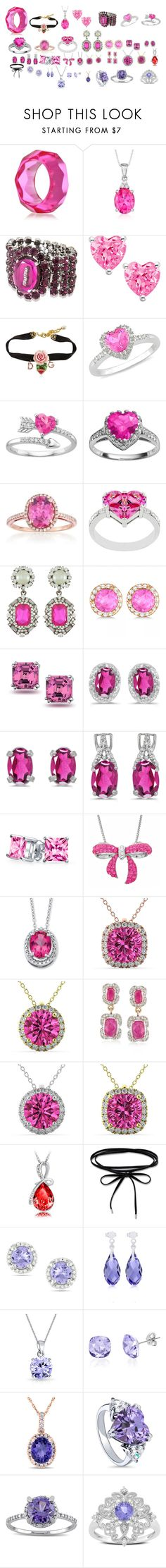 """""""star's jewelry"""" by miliorobb on Polyvore featuring Kenneth Jay Lane, Ross-Simons, Miu Miu, Dolce&Gabbana, Ice, Kate Bissett, Allurez, Bling Jewelry, BillyTheTree and Amanda Rose Collection"""