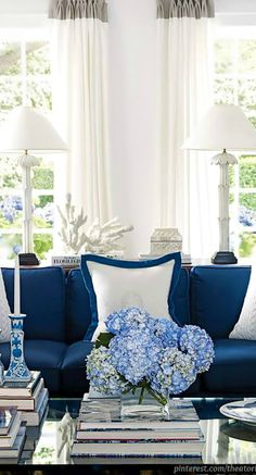 Shades Of Indigo ● Living room