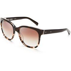 76885f6bb6976 Bobbi Brown Gretta Square Sunglasses featuring polyvore