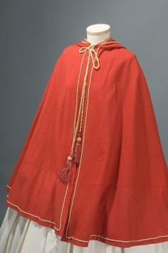 In the Swan's Shadow: Short capes, ca. 1855-65