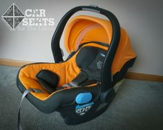 Great new seat - the UppaBaby Mesa. Long limits, and a no-rethread harness!