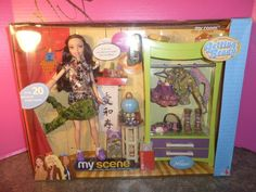 2003 My Scene NOLEE Getting Ready My Room Gift Set Doll  and 20+ Pieces NRFB  #MyScene #DollswithClothingAccessories