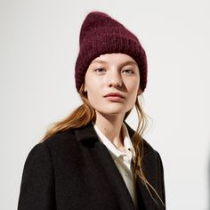 FWSS Pacific 202 winetasting red mohair mix beanie - FWSS - Fall Winter Spring Summer - shop online