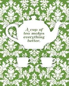 A cup of tea makes everything better. #tea. :-:-:- I have a sore throat from screaming like a banshee today and tea tonight is oh so right.