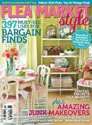 Since I didn't specify that these had to be books, I'm going a little off track to have a minor freak out of excitement: Flea Market Style, probably my favorite magazine, now has a Fall issue! No more waiting an entire year for fun design ideas and recommended flea markets!
