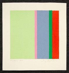 Jay Rosenblum. POLARITY #5 , 1981 Print Acrylic on Paper