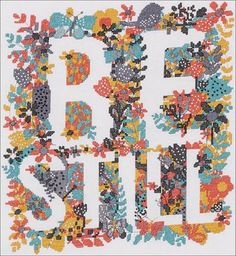 Bucilla Be Still - Cross Stitch Kit. Featuring the words Be Still in a welcoming floral motif, this Bucilla Counted Cross Stitch Picture Kit is adapted from the