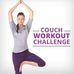 Will you be on the couch watching your favorite show tonight?  Do our Couch Workout Challenge!  No excuses!  #couchworkoutchallenge #workouts #workoutchallenge