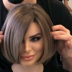 Vidal Sassoon Short Bob 2012 Layered Hair Art Short