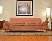 Mad Men Style Mid Century Retro Sofa/Couch - 1950's