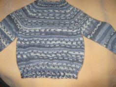 hand knit toddler sweater by GrannysKnits on Etsy, $40.00