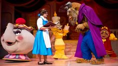 Beauty and the Beast-Live on Stage -- Be swept into the romantic fairy tale of the Beast who could only be saved by love in this lavish Broadway-style musical!