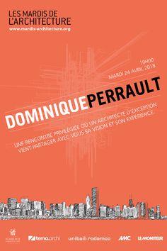 Les Mardis de l'Archrtecture #13 Dominique Perrault