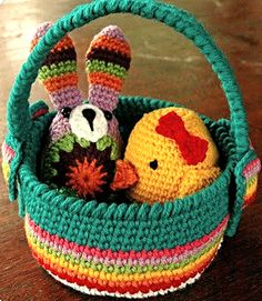 Free easter basket crochet pattern easter baskets easter and crochet crochet pattern free knit patterns crocheted purses spring crafts easter baskets crochet crafts crafty craft amigurumi crocheting negle Gallery
