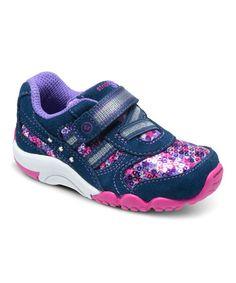 Look at this #zulilyfind! Navy SRT Lydia Suede Sneaker #zulilyfinds