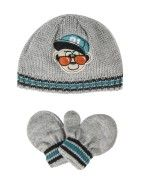Beanie & Mittens Set Mittens, Kids Fashion, Beanie, Hats, Clothes, Tall Clothing, Hat, Clothing Apparel, Fingerless Mittens