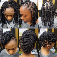 "1,922 Likes, 15 Comments - The King Of LOCS (@locsbylokelo) on Instagram: ""2strand twist ✖️ Updo Perfect 2n1 style   Charlotte NC all weekend.  