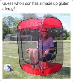 That tent thing looks awesome and I don't get the joke -snickety