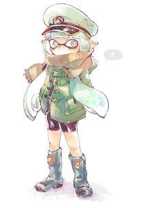 Splatoon Squid, Nintendo Splatoon, Splatoon 2 Art, Callie And Marie, Cartoon Design, Video Game Art, Art Music, Animal Crossing, The Help