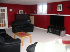 Behr Ruby Ring Part Of The Wall Color For Our Fire Fighter Man Cave