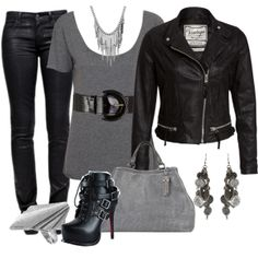 """""""I'm a bad girl, baby!"""" by fashion-766 on Polyvore"""