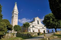 Climbing the tower of St. Euphemia- Rovinj, Istria, Croatia. More info @ http://www.lonehotel.com