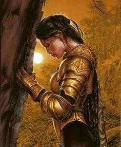 Ritter - Knight - Chevalier - Paladin - Guerrier - Templier -Templar - Templer… Source by art Spiritual Warrior, Prayer Warrior, Spiritual Warfare, Fantasy Kunst, 3d Fantasy, Fantasy World, Fantasy Warrior, Woman Warrior, Warrior Princess