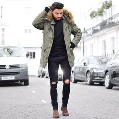 @rowanrowrowan styling the Askel Parka - get yours now for the chilly weekend ahead! http://bit.ly/1ZAzUVF