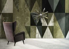 Objects: Milano Wallpaper Collection by N.O.W. Edizioni is a wallpaper series, inspired by the city of Milan. Carogio