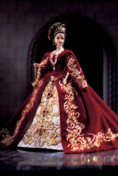 Porcelain - Fabergé™ Imperial Splendor™ Barbie® Doll | Barbie Collector  Limited Edition  Release Date: 1/1/2000  Product Code: 27028