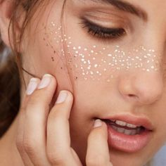 Face Gems Party Make Up Adhesive Glitter Jewel Tattoo Sticker Festival Rave Sun Freckles, Freckles Makeup, Makeup Stickers, Face Stickers, Face Gems, Face Jewels, Face Tattoos, Makeup Tattoos, Sleeve Tattoos