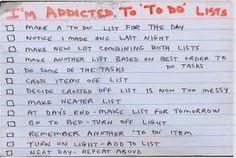«to do» list