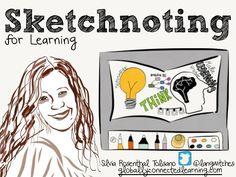 Sketchnoting FOR Learning by Silvia  Rosenthal Tolisano via slideshare