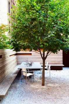 West Village Brownstone - Contemporary - Landscape - New York - Billinkoff Architecture PLLC