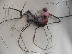 Creative Root Sculpture... — with Mário Macedo de Souza and Abel Stratico..