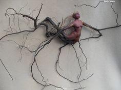 Creative Root Sculpture... — with Mário Macedo de Souza and Abel Stratico..
