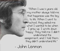 Lennon & Happiness