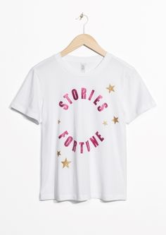 & Other Stories image 2 of Stories Fortune Tee in White