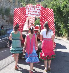 Pilgrimage in village of Benamahoma, Cadiz. Andalucia Spain, Cadiz, Most Romantic, Seville, Pilgrimage, Lily Pulitzer, June, City, Dresses