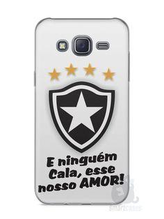 Capa Capinha Samsung J5 Time Botafogo #2 - SmartCases - Acessórios para celulares e tablets :)