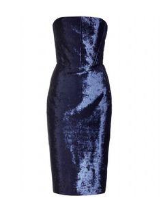Acne Studios - PLEIN VELVET DRESS - mytheresa.com $635