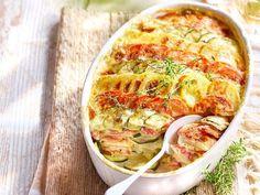 Le gratin du sud, pommes de terre, courgettes et tomates olivettes en vidéo