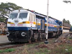 Express train in India